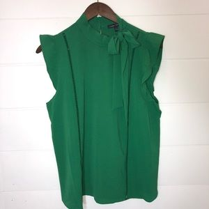 Emerald Green sleeves blouse
